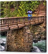 Mcdonald Creek Bridge Canvas Print