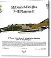 Mcdonnell Douglas F-4e Phantom II Canvas Print
