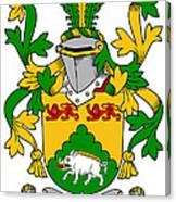 Mcdonogh Coat Of Arms Irish Canvas Print