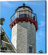 Mcgulpin Point Lighthouse Michigan Canvas Print