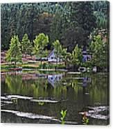 Mcintosh Lake In Washington Canvas Print