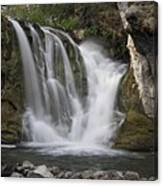 Mckay Crossing Falls In Eastern Oregon Canvas Print