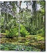 Mckee Botanical Gardens Canvas Print