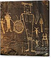Mckee Ranch Petroglyphs Canvas Print