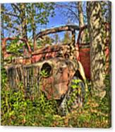 Mcleans Auto Wrecker - 1 Canvas Print
