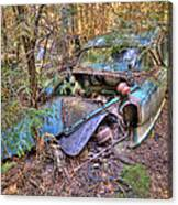 Mcleans Auto Wrecker - 10 Canvas Print