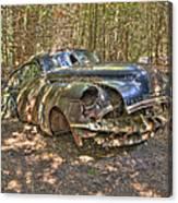 Mcleans Auto Wrecker - 11 Canvas Print