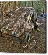 Mcleans Auto Wrecker - 12 Canvas Print
