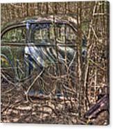 Mcleans Auto Wrecker -13 Canvas Print