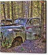Mcleans Auto Wrecker - 3 Canvas Print