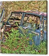 Mcleans Auto Wrecker - 4 Canvas Print