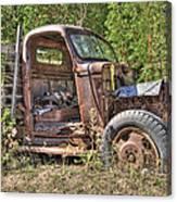 Mcleans Auto Wrecker - 6 Canvas Print