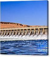 Mcnary Dam Canvas Print