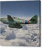 Me 262 - Stormbird Canvas Print