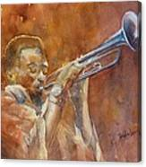Me And My Trumpet Canvas Print