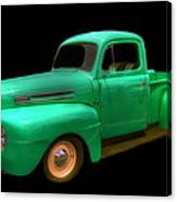 Mean Green - 48 Ford Canvas Print