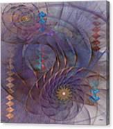 Meandering Acquiescence - Square Version Canvas Print