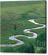 Meandering East River Canvas Print