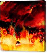 Meanwhile In Tartarus Canvas Print