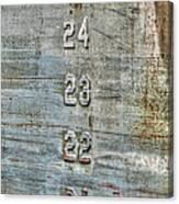 Measure Of Draft Canvas Print