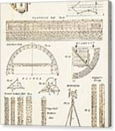 Measuring Instruments And Techniques. Canvas Print