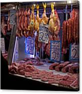 Meat Market    Athens   #6697 Canvas Print