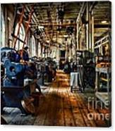 Mechanical Works Canvas Print