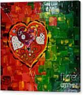 Mechanism Of Love Canvas Print