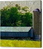 Mechanisville Md Farm Canvas Print