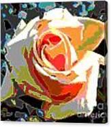 Medallion Rose Canvas Print