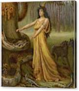 Medea, Daughter Of Aeetes King Canvas Print