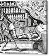 Medical Purging Canvas Print