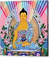 Medicine Buddha 1 Canvas Print