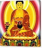 Medicine Buddha 10 Canvas Print