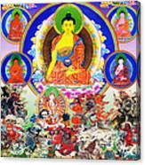 Medicine Buddha 12 Canvas Print