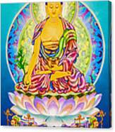 Medicine Buddha 7 Canvas Print