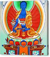 Medicine Buddha 9 Canvas Print