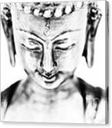 Medicine Buddha Monochrome Canvas Print