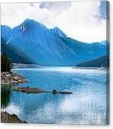 Medicine Lake Canvas Print
