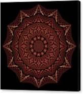 Medicine Wheel Dragonspur Fractal K12-4 Canvas Print