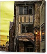 Medieval Alley Canvas Print