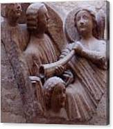 Medieval Angels Canvas Print