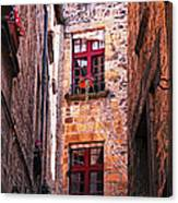 Medieval Architecture Canvas Print