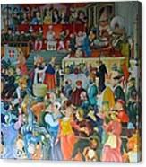 Medieval Banquet Canvas Print