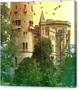 Medieval Castle - Old World  Canvas Print