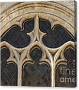 Medieval Church Window Ornaments Canvas Print
