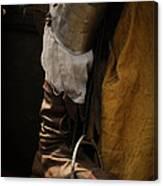 Medieval Faire Boot Detail 2 Canvas Print