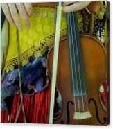 Medieval Gypsy Canvas Print