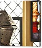 Medieval Helmet Canvas Print