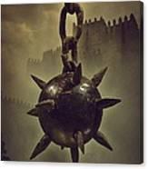 Medieval Spike Ball  Canvas Print